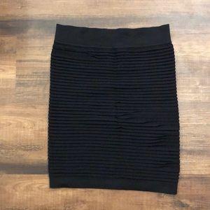BCBGeneration Skirts - BCBGeneration body con ribbed skirt